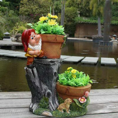 Resin Statue Planter SNF91089-2