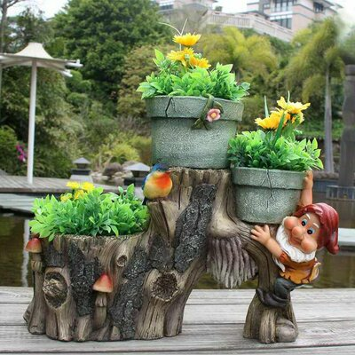 Resin Statue Planter SNF91090-2