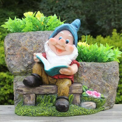 Resin Statue Planter SNF91210-1