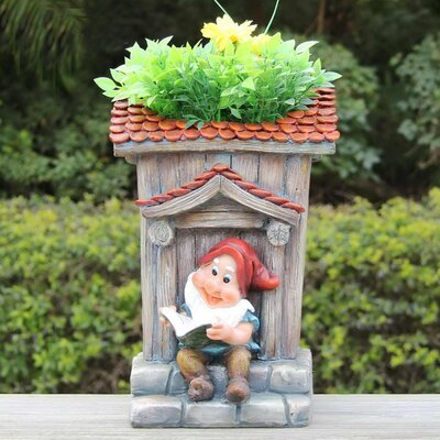 Resin Statue Planter SNF91190-2