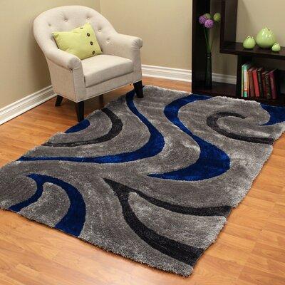 Electric Blue Area Rug