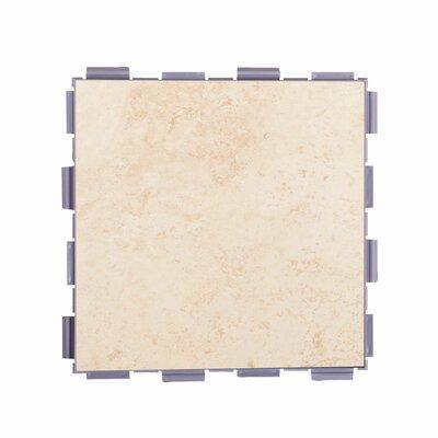 Classic Standard 6 x 6 Porcelain Field Tile in Beige
