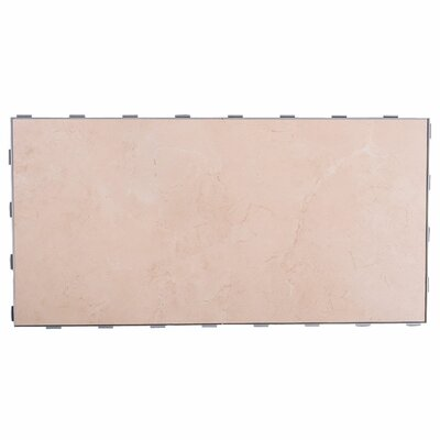 Luxury ThinLine 12 x 24 Porcelain Fabric Tile in Sea Shell