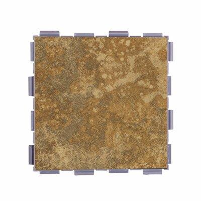 Classic Standard 6 x 6 Porcelain Field Tile in Camel