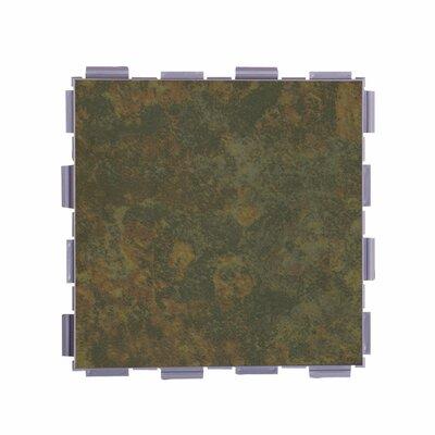Classic Standard 6 x 6 Porcelain Field Tile in Moss