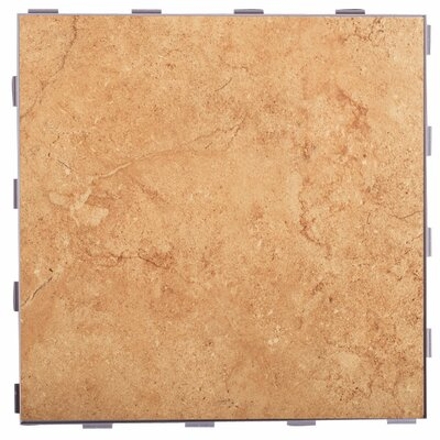 Classic ThinLine 12 x 12 Porcelain Field Tile in Mocha