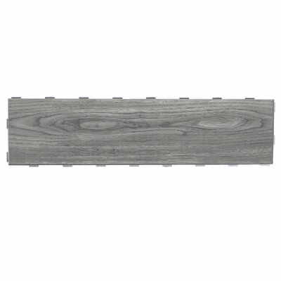 Planks ThinLine 6 x 24 Porcelain Wood Tile in Weathered Grey