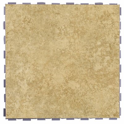 Classic Standard 12 x 12 Porcelain Field Tile in Sand