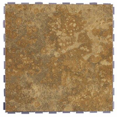 Classic Standard 12 x 12 Porcelain Field Tile in Camel