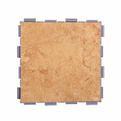 Classic Standard 6 x 6 Porcelain Field Tile in Mocha