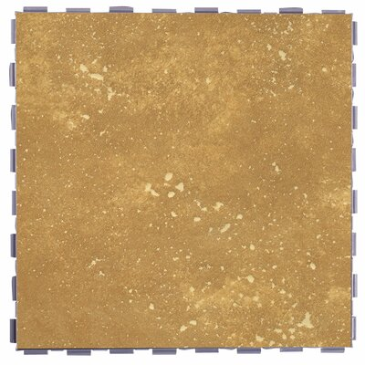 Classic Standard 12 x 12 Porcelain Field Tile in Latte