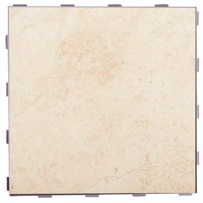 Classic ThinLine 12 x 12 Porcelain Field Tile in Beige