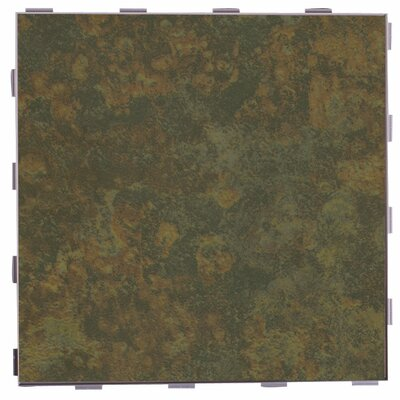 Classic ThinLine 12 x 12 Porcelain Field Tile in Moss