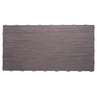 Luxury ThinLine 12 x 24 Porcelain Fabric Look/Field Tile in Graphite
