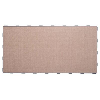 Luxury ThinLine 12 x 24 Porcelain Fabric Look/Field Tile in Beige