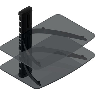 TygerClaw Double Layer DVD Shelf