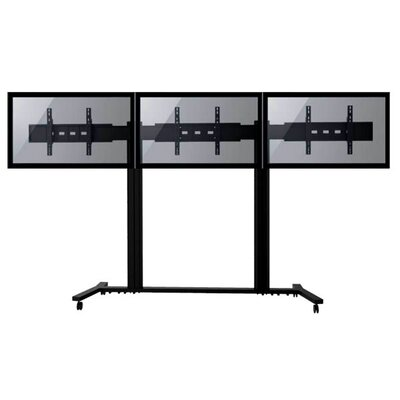 TygerClaw Mobile 2 TVs Universal Floor Mount for 30-60 Flat Panel Screens