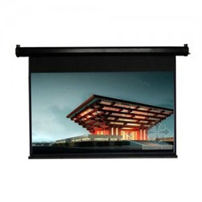TygerClaw Black Electric Projection Screen Size: 84 H x 84 W