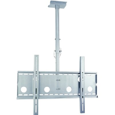TygerClaw Ceiling Mount for 32-60 Flat Panel Screens Finish: Silver