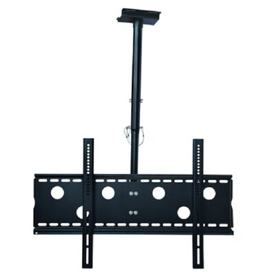 TygerClaw Ceiling Mount for 32-60 Flat Panel Screens Finish: Black