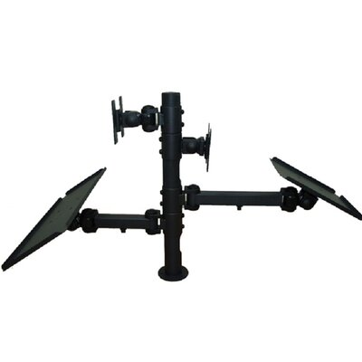 TygerClaw Back to Back Universal 2 Screen Desk Mount