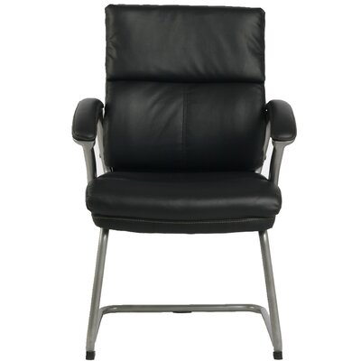 Bettye High-Back Leather Guest Chair