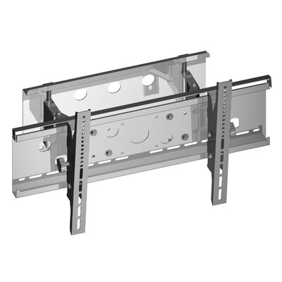Electronic Master AV Tilt Swivel Wall Mount for 36-55 Flat Panel Screens Color: Silver