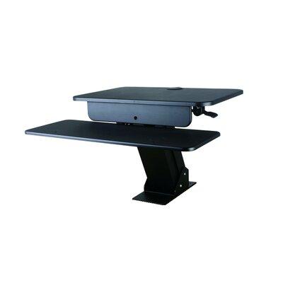 Beverley 6.3 H x 26.8 W Standing Desk Conversion Unit with Desk Mount
