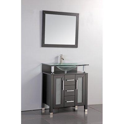 Beliza 32 Single Sink Bathroom Vanity Set with Mirror