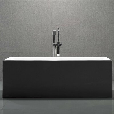 Long Beach 58.8 x 29.75 Soaking Bathtub