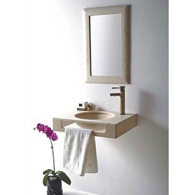 Rome 24 Wall mount Bathroom Sink