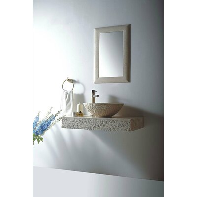 Rome Stone 36 Wall Mount Bathroom Sink