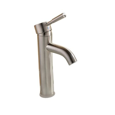 Single Handle Single Hole Faucet Size: 12-Inch, Finish: Brushed Nickel