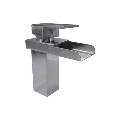 Single Hole Single Handle Bathroom Faucet Finish: Polished Chrome