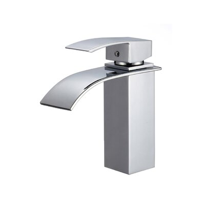 Single Handle Single Hole Standard Bathroom Faucet Finish: Polished Chrome