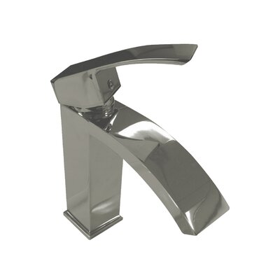 Single Handle Single Hole Standard Bathroom Faucet Finish: Brushed Nickel