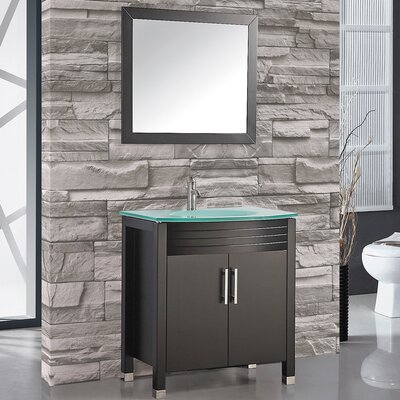 Figi 32 Single Sink Bathroom Vanity Set with Mirror
