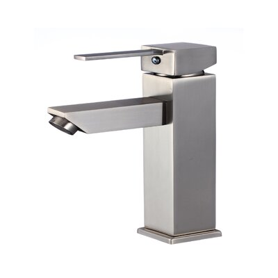 Atlantis Single Handle Bathroom Faucet Finish: Brushed Nickel