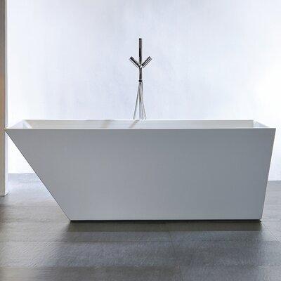 Cabrillo 60 x 29.53 Freestanding Bathtub Size: 67-Inch