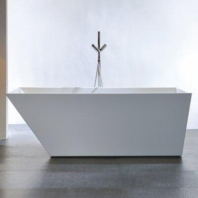 Cabrillo 60 x 29.53 Freestanding Bathtub Size: 60-Inch