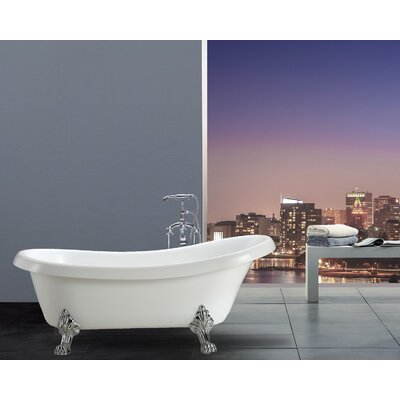 Hermosa 66.9 x 30 Soaking Bathtub