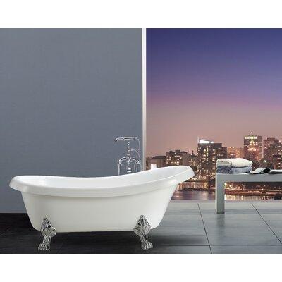 Hermosa 66.9 x 30 Soaking Bathtub