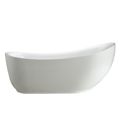 Zuma 71 x 34 Soaking Bathtub