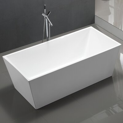 Palms 60 x 33 Soaking Bathtub