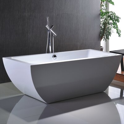 Huntington 67 x 33 Soaking Bathtub