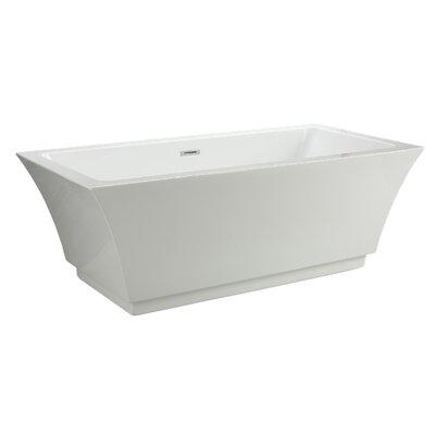Maliboo 66 x 31.5 Freestanding Soaking Bathtub