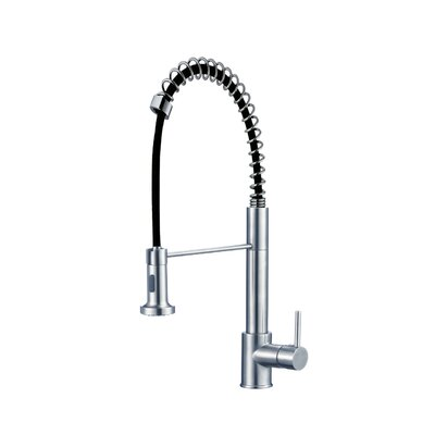 Deo Single Deck Mounted Kitchen Faucet Finish: Polished Chrome