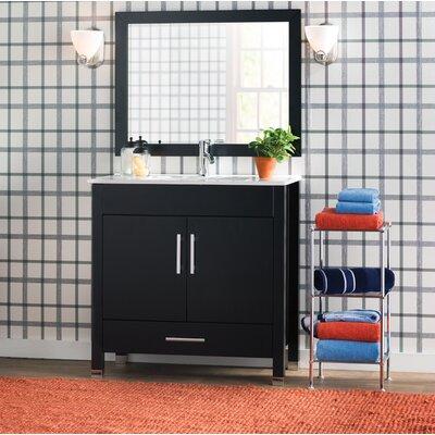 Prahl 36 Single Sink Bathroom Vanity Set with Mirror