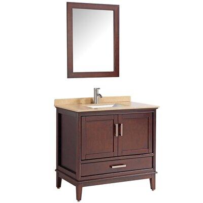 Middleton 24 Single Bathroom Vanity Set with Mirror