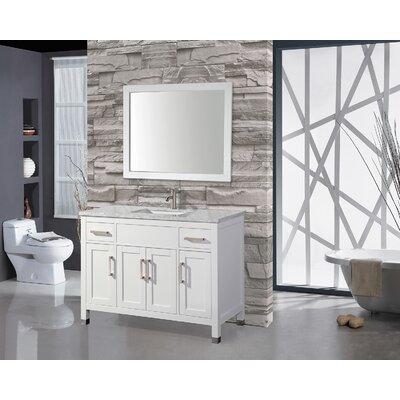 Denault 60 Single Sink Bathroom Vanity Set
